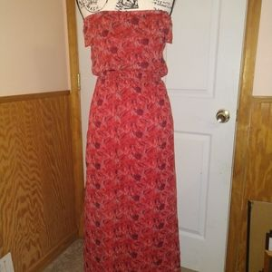 Like New Red Lightweight Dress